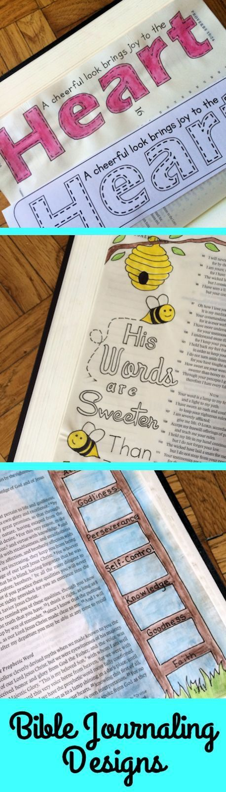 1000 Images About Bible Journaling Templates On Pinterest