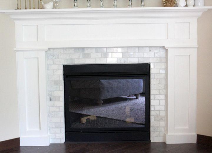 Best 20+ Subway tile fireplace ideas on Pinterest | White ...