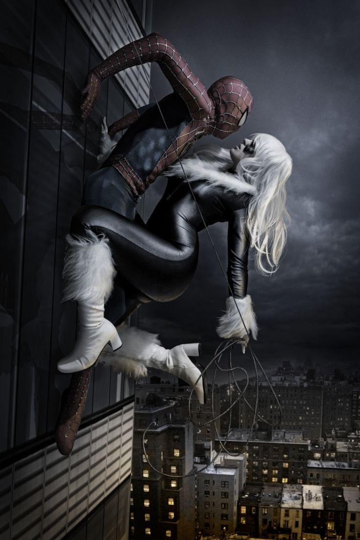 spiderman black cat - 750×1125