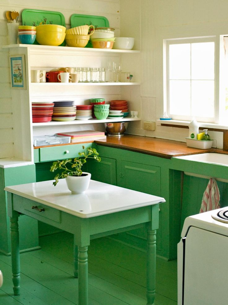 1000 Images About Green Kitchen On Pinterest Vintage