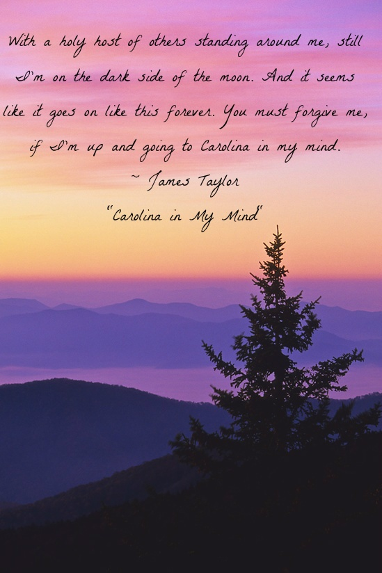 James Taylor (Carolina in My Mind)