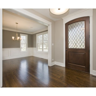 stain is minwax dark walnut trim is bm dove white benjamin moore 984 stone hearth foyer benjamin moore 1475 graystone love this for my remodeled