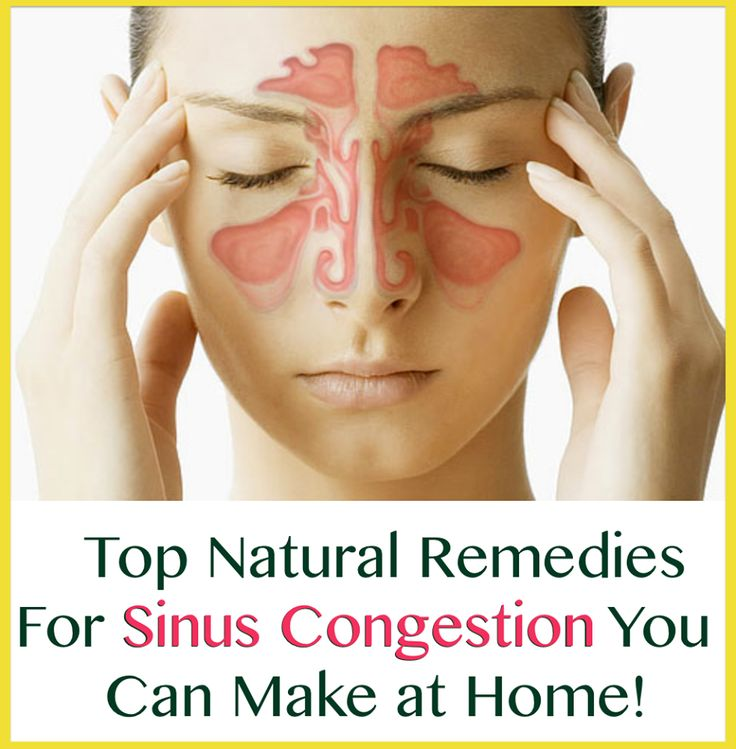 Natural Remedies For Sinus Infection And Chest Congestion