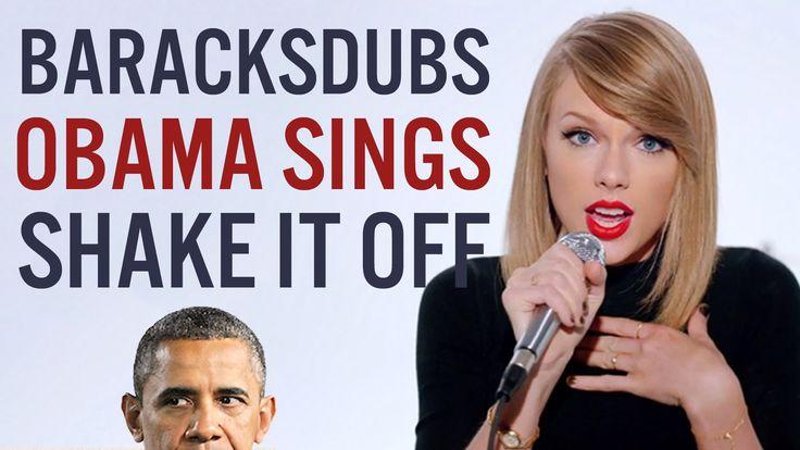 President Obama Sings Taylor Swift's Shake It Off