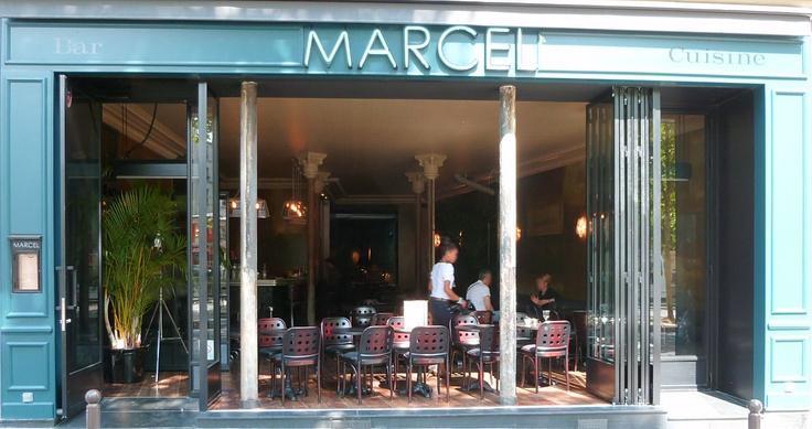 Café Marcel restaurant, 90 Quai Jemmapes 75010 Paris