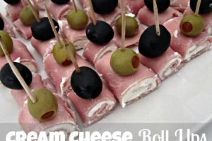 Simple and Easy Appetizer Recipes | Easy Appetizer- Cream Cheese Roll Ups