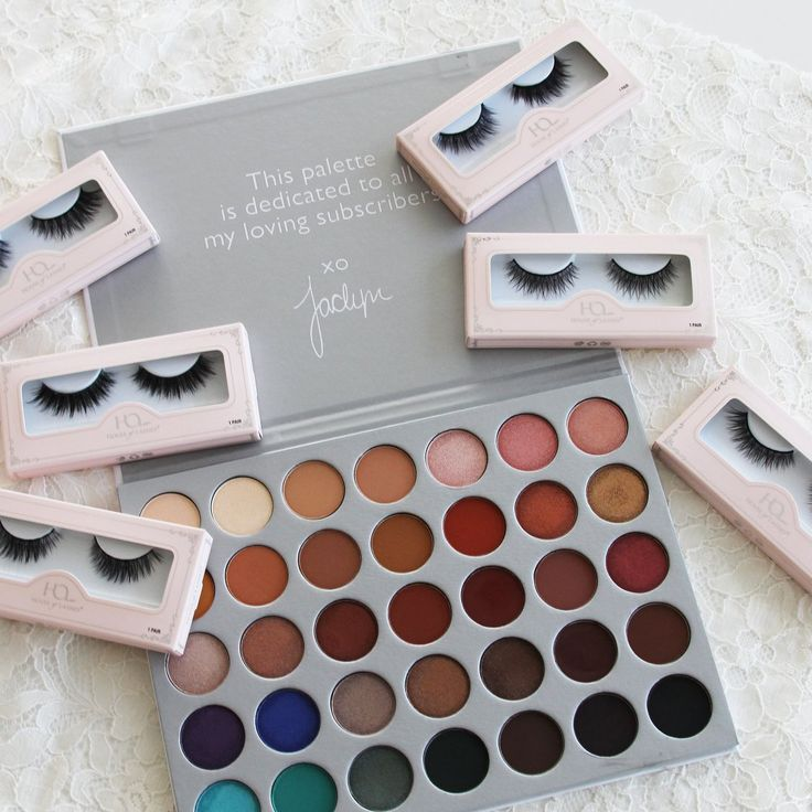 This palette though!!!!  The new #MorpheXJaclynHill palette and our new #AlluraLiteLashes, #SereneLiteLashes, and #DemureLiteLashes making a STATEMENT!  #houseoflashes #lashes #lashgamestrong #crueltyfree