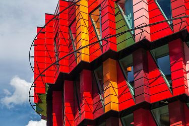 Kuggen is a building owned by Chalmers University of Technology in Gothenburg, Sweden, designed by Wingårdh arkitektkontor. Construction started in October 2010 and was finished in March 2011.