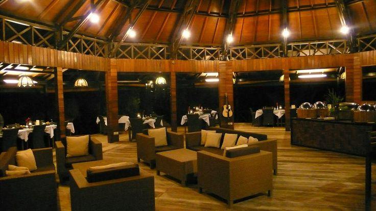 Lembeh Resort's newly refurbished restaurant