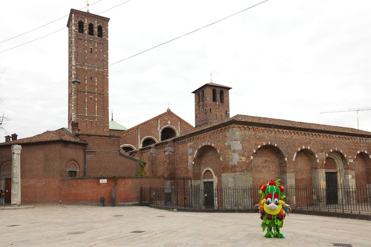 """""""I will recommend to all my friends who come Milan for the first time to visit the magnificent church of Sant'Ambrogio"""" - #Foody"""
