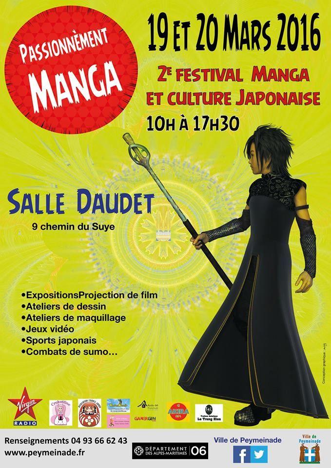 Festival du manga 2016 - Peymeinade, France, 19 et 20 Mars, 2016 ~ Anime Nippon~Jin - Kagi Nippon He