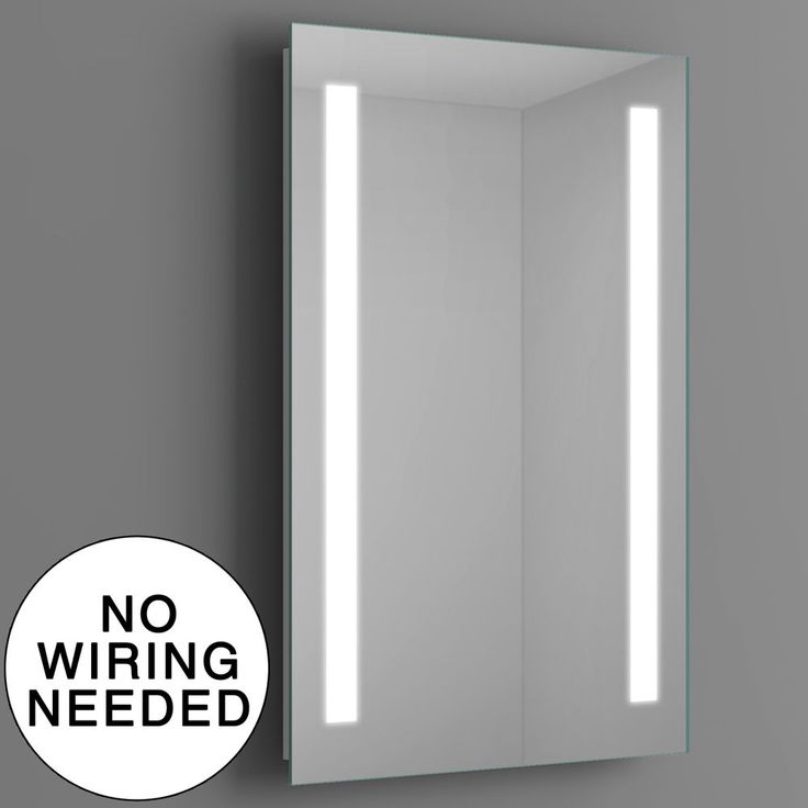 Battery Powered Bathroom Mirror Light: 1000+ Ideas About Led Mirror On Pinterest