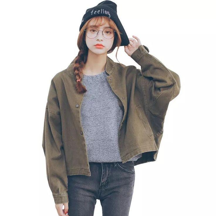 harajuku Baseball uniform BF jacket YV1106