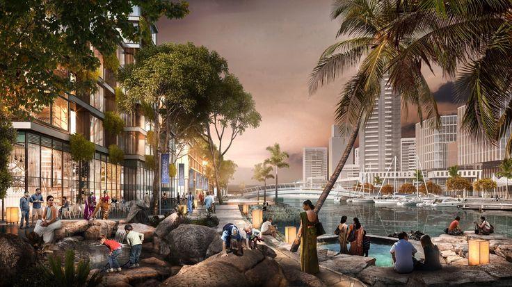 Galería de SOM diseñará el plan maestro del nuevo distrito financiero de Colombo, Sri Lanka - 4
