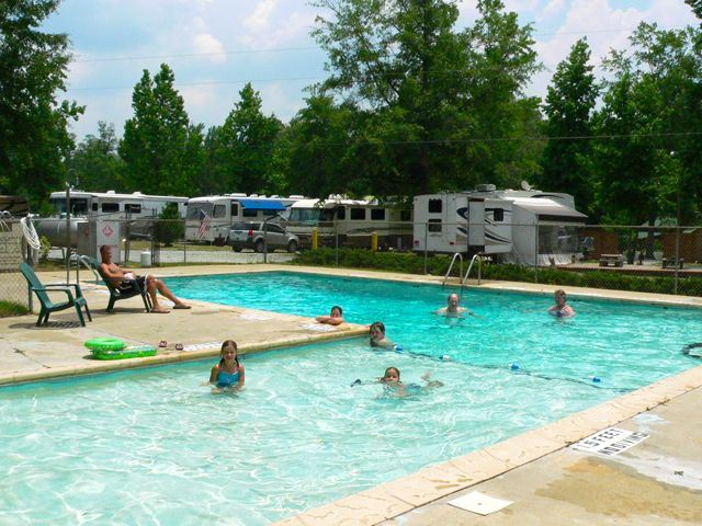 Lake Pines Campground Columbus Midland GA Passport America Campgrounds