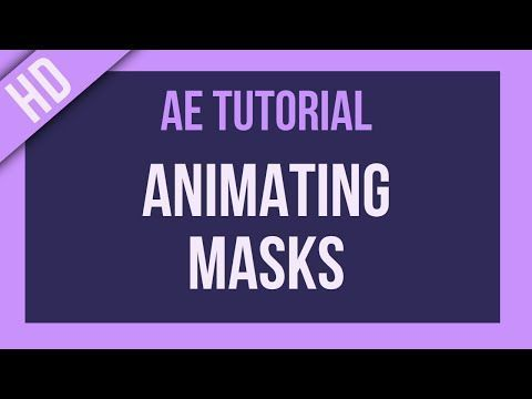 After Effects Tutorial: Animating Masks - YouTube