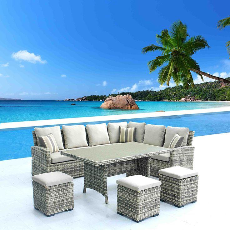 9 Seater Sofa Set - Natural Sofas | Creative Living