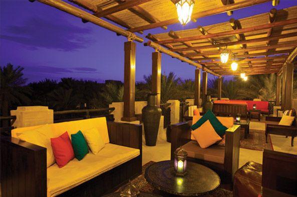Bab Al Shams, UAE - I love the bar at this hotel in Dubai!