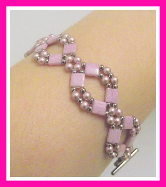 So intricate Tila Beads Bracelet Hand woven Handmade with Miyuki by lyrisgems, $36.00 #onfireteam #lacwe: