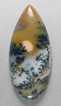 #gemstone AMETHYST SAGE agate from Nevada. Designer cabochon cut by Sam Silverhawk © Silverhawk