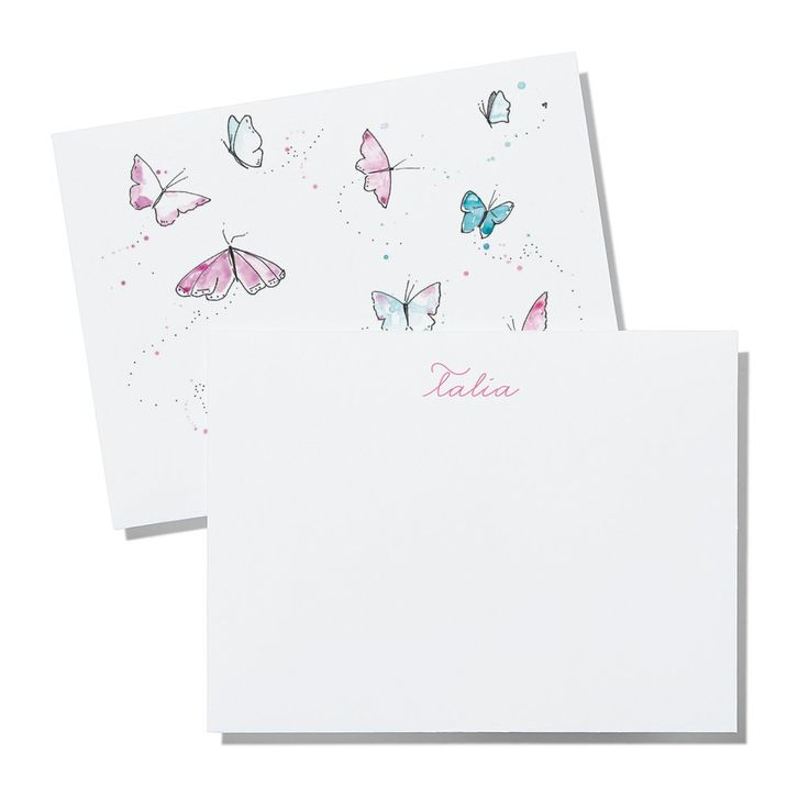"Description   Size: 4.21""x5.47""Quantity: Sold in increments of 20 cards; Minimum of 20 Notecards per order    Steps    1. Select desired ""Paper Stock""2. Select desired ""Colour"" (where available)3. Input your ""Name(s)""4. Select ""Quantity""5. Select ""Add to Cart""     Envelopes     This product ships with soft white envelopes. For other envelope colour options or special requests for your cards, please email us at orders@printedmatterpaper.com  Once your order is placed, our coordin..."