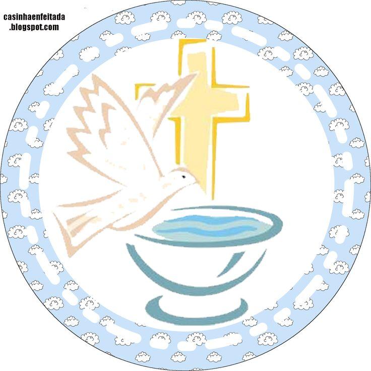 Casinha de Criança: Kit Festa Batizado Menino Para Imprimir Grátis