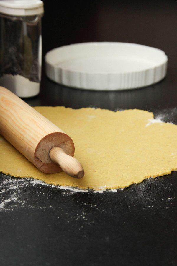 Pâte à tarte sans gluten sans beurre sans oeufs facile à étaler !