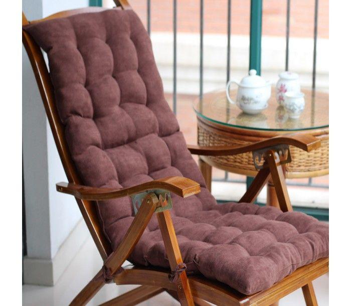 Удобная стеганая подушка-коврик, идеально подойдет для отдыха на шезлонге или кресло-качалке