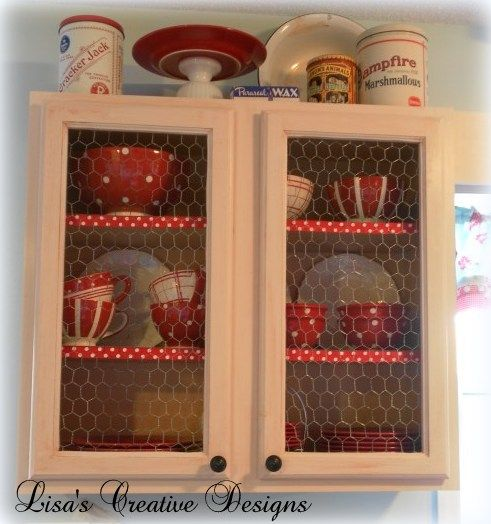 A Kitchen Display Cabinet Makeover