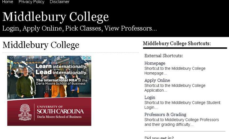 Are you someone who has been interested in attending Middlebury College ever since they were a child? As anyone who is already a student at Middlebury College could tell you, it's really a social type of school. Sure the academics are also notable among schools of the same type. However, the biggest reason people in Vermont are drawn to Middlebury College is because of the social camaraderie found there.