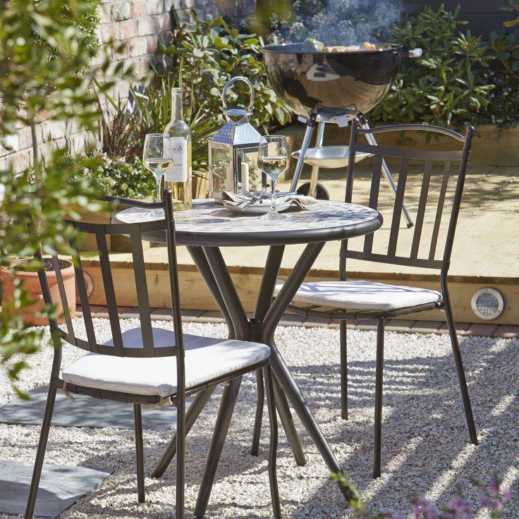 Sofia 2 Seater Bistro Set  Bistro SetGarden FurnitureDining. 25  best ideas about B q garden furniture on Pinterest   B q