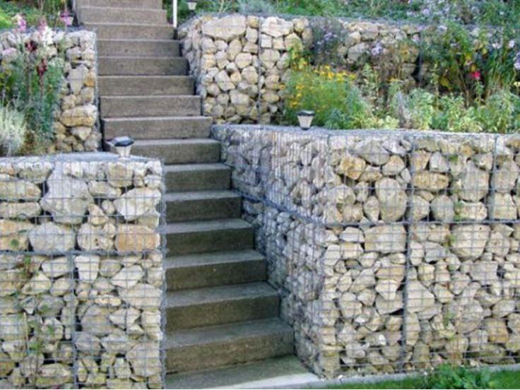 Great Gabion Wall Expert   Gabion Wall Gallery, Gabion Images · Garden  EdgingGabion WallIdeas ...