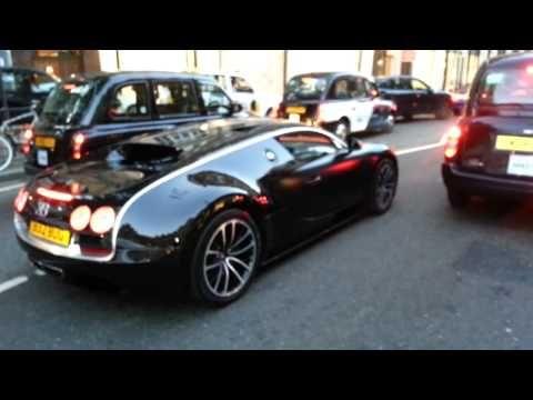 Bugatti veyron super car sport with ferrari
