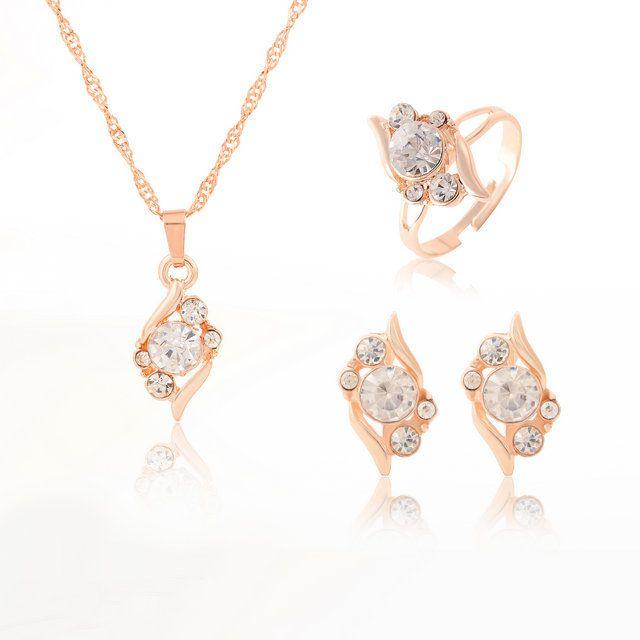 ГР Ювелирных Горный Хрусталь ожерелье & подвеска для женщин Любовь золотые украшения для женщин Богемный цветок стиль ожерелье как подарок