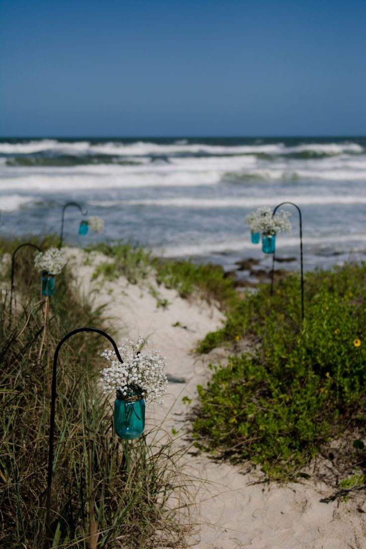 Beach Wedding Ceremony Decoration