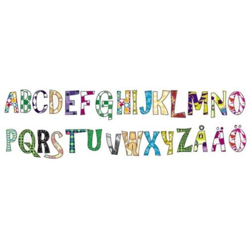 Färgglada alfabetet Väggdekor Barn