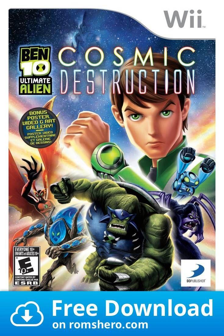 Download Ben 10 Ultimate Alien Cosmic Destruction Nintendo Wii