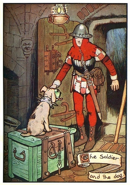 Quot The Soldier And The Dog Quot Gordon Robinson Quot Hans Andersen