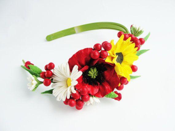 bridal hair accessories, wedding headpiece, woodland flowers, bridal hair flower, rustic wedding, bridal headband, rustic head wreath