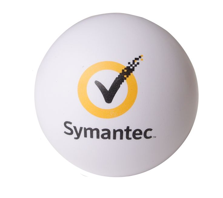 Feeling Stressed? Just squeeze this Symantec stressball Find us on facebook at https://www.facebook.com/JNLondon