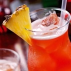 Mount Gay Tropical Passion - BARBADOS - Ingredients:  *2 oz Mount Gay Eclipse Rum (the best rum brand in the world!)  *1 oz Passoa (passion fruit liqueur)  *1 oz Bols Creme de Banane  *2 oz Pineapple Juice    METHOD:  Combine all ingredients and shake with ice. Pour into a highball glass and garnish with pineapple and a cherry.