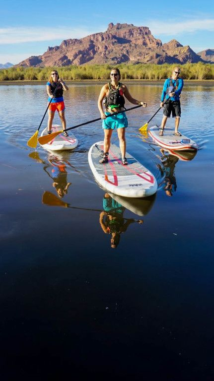 Stand Up Paddle Board (SUP) Tours | Arizona Outback Adventures | Half-Day Guided Tour | Arizona Outback Adventures