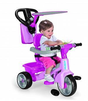 TRICICLO ROSA FEBER BABY PLUS MUSIC NUEVO MODELO. 800010210