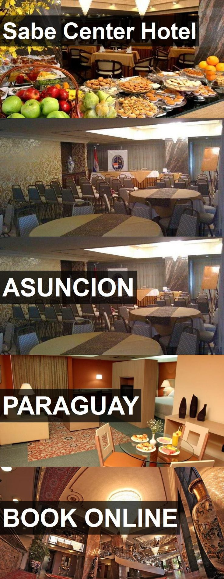 Sabe Center Hotel in Asuncion, Paraguay. For more information, photos, reviews and best prices please follow the link. #Paraguay #Asuncion #travel #vacation #hotel