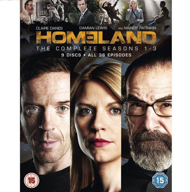 BARGAIN Homeland – Season 1-3 [Blu-ray] NOW £26.99 At Amazon - Gratisfaction UK Bargains #homeland