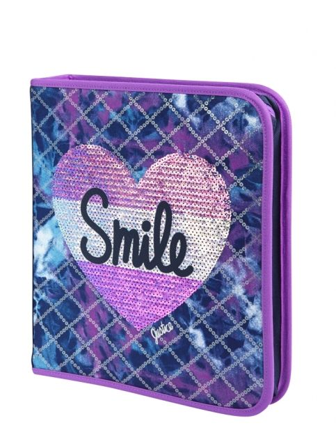 Dye Effect Smile Binder | Girls Backpacks & School ...