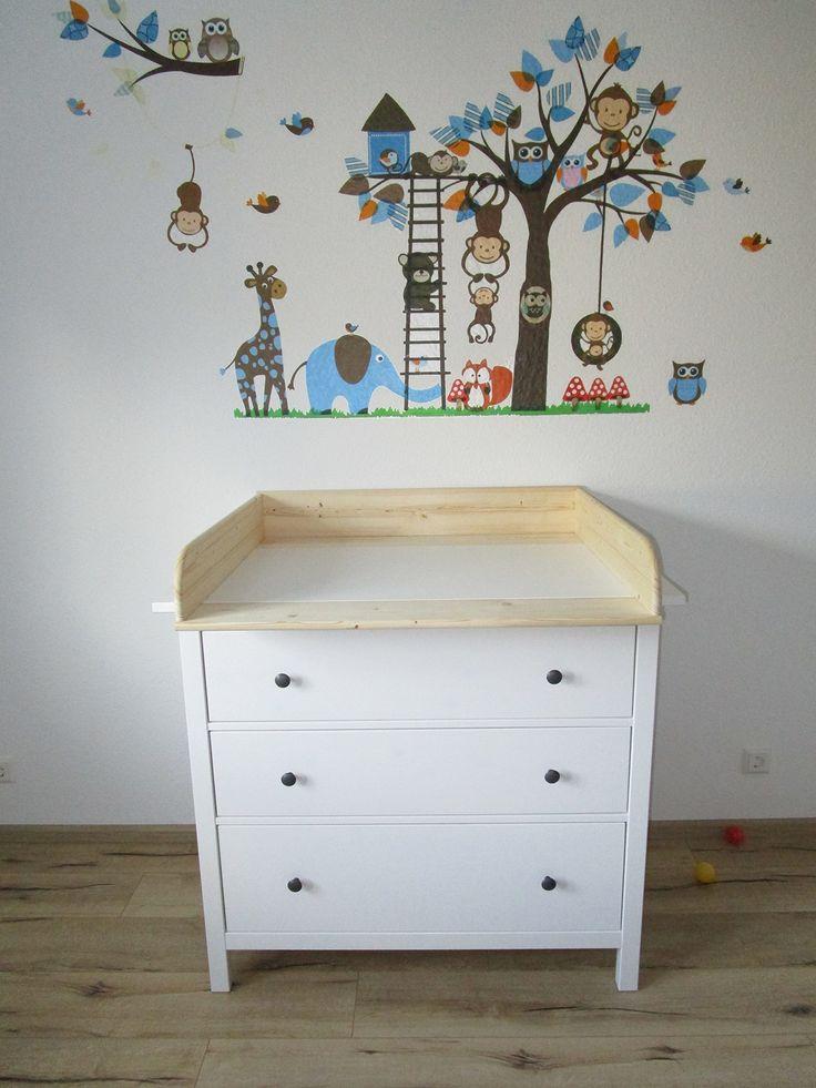 Wickelaufsatz 13 Cm Hoch Für Ikea Hemnes Kommode: Amazon.de: Baby