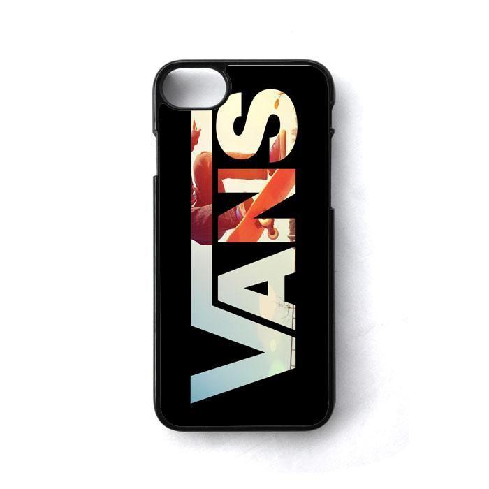 Black Vans Logo Skate iPhone 7 Case - Black Iphone 8 Case - Ideas ...