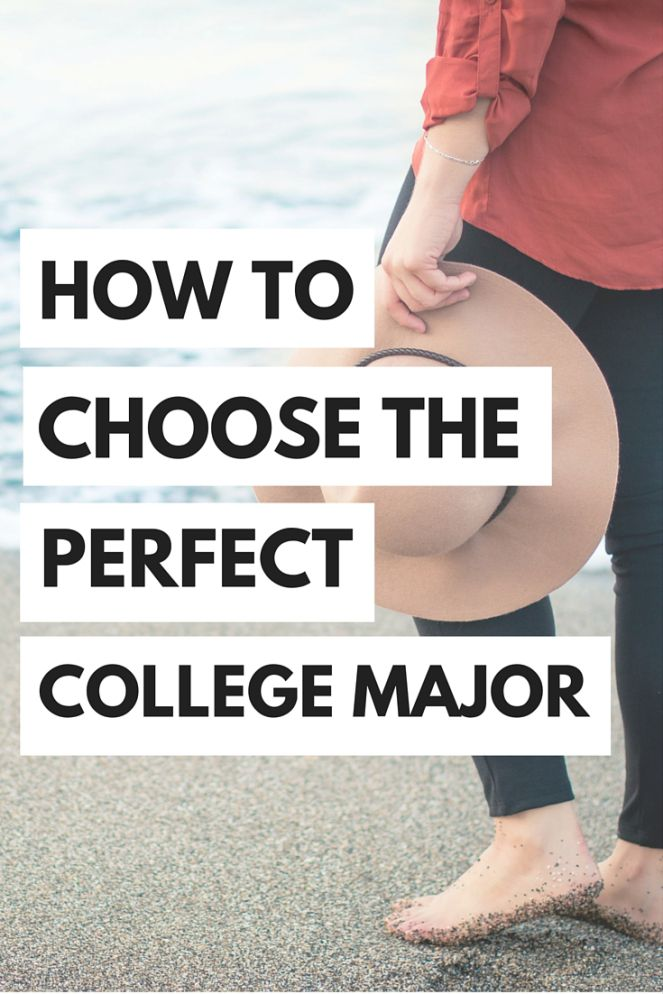Choosing your college major can be one of the biggest decisions a girl can make...here's some tips to take the pressure off how to choose your college major!
