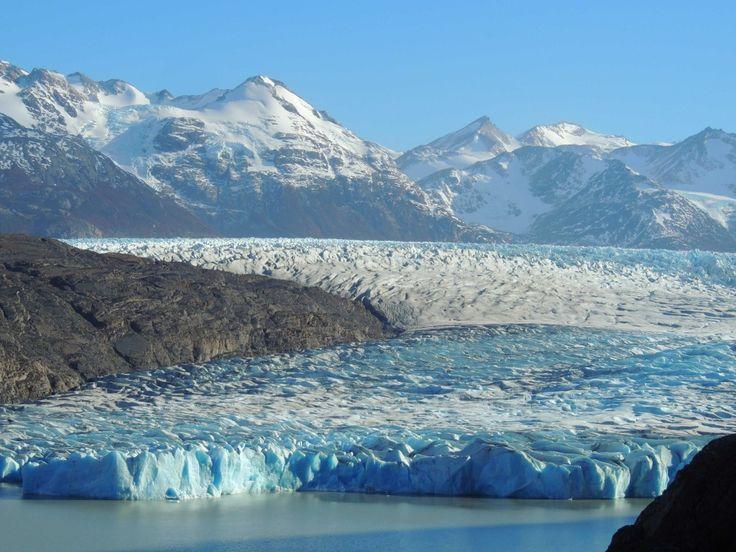 Vista del Glaciar Grey